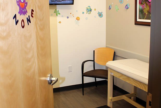 AFC Chapman Highway Patient Room